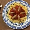 スパゲティーも水に晒(さら)せるのですね!!