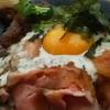 肉どん侍「讃岐三種肉丼」と「肉かすそばセット」を食べました!