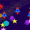 ビスケットプログラミングで「宇宙の世界」をつくろう!(Viscuitの使い方③「チカチカアニメ」)