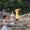 【五輪】日本に向けて動き出した聖なる炎