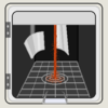 紙コップ式コーヒー自販機と、にゅるにゅるうどん