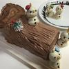 ブッシュ・ド・ノエルに初挑戦!クリスマスケーキを作ってみました。