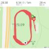 恒例!地獄のショートインターバル42本+400m走