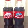 コカ・コーラの期間限定ボトル、コールドサインボトルを買ってみました(^o^)