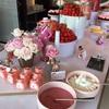 旬のイチゴを思う存分食べよう♪視界が「可愛い」でいっぱい♪東大門ホテル「JWマリオット」のイチゴビュッフェ