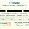 英会話の習得進捗確認としてのTOEIC [キャリア] [英会話]