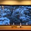 雪国の本物の雪景色