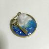 【UVレジン】海と結晶のペンダントトップ