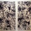櫻木画廊の中津川浩章展「線を開放する」を見る