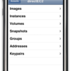 iPhone Console for Amazon EC2
