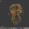 MagicaVoxel→Blender→Unityでボクセルモデルを動かす 改①