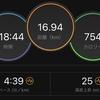 12/31  17キロジョグ  マラソン練習