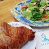 アトリエ菓舎 @反町 フランス菓子店でサラダとクロワッサンとデザートランチ