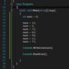 [ Visual Studio 2015 ] C#の豆知識。変数名の一括変更について