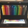 【三菱ユニカラー100色・色鉛筆セット】ディズニーで買ったぬりえを塗ってみた。