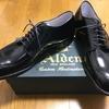 逸品❾『Alden #54332 Vチップ 黒コードバン モディファイドラスト』~ニューヨークMoulded Shoeより個人輸入