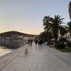 【クロアチア】6日目-5 夕暮れのマルヤンの丘から眺めるスプリト旧市街