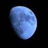 姶良市からの1月27日のお月さまです。