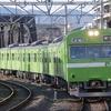 2月24日撮影 奈良線 東福寺駅 【ウグイス色の奈良線 103系】をメインに撮る