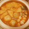 カップラーメン(昼)、キムチ鍋(夜)に挑戦