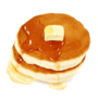 昭和のホットケーキ