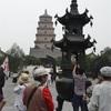 西安(3)ーー大雁塔、青龍寺