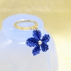 イーネオヤ 青い花のリング