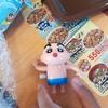 【すき家】クレヨンしんちゃんのわくわく水遊び!バタバタ背泳ぎしんちゃんと牛丼豚汁サラダセット