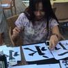 日本文化を世界へ!青空の下で、フィリピン人と習字に挑戦!