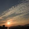 竹島海岸の夕陽 2016 6月