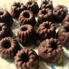 シリコンミニクグロフ型でプチチョコケーキ♪ かわいいシリコン型いろいろ