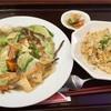 🚩外食日記(158)    宮崎ランチ       🆕「中華料理  福隆」より、【あんかけ焼きそば&焼きめしセット】‼️