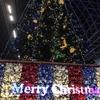 京都駅ビルの大階段を彩るクリスマスイルミネーション