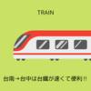 台南→台中は台鐵の普悠瑪号が速くて便利‼ でも…