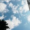 前とは少し違う日常に戻り、空を見上げタメ息。