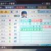 221.オリジナル選手 渋井励選手 (パワプロ2018)