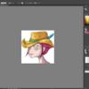 illustratorで絵を作成すること。#2