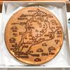【滋賀】竹生島でのおみやげに煎餅に琵琶湖周辺の地図が描かれた「近江せんべい」
