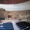 北欧フィンランドのヘルシンキにある岩の教会