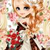 ゲーム「恋してキャバ嬢」のアバター♪秋バラの妖精編