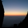 The first sunrise of the year at Mt. Huang: day 4 / 黄山で初日の出を 4日目