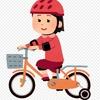 補助輪とヘルメット