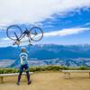ロードバイクで陣馬形山へヒルクライムしてきた!2020年10月の様子の写真を撮ってきました。