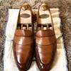 本日の革靴修理 エドワードグリーン バッキンガム