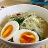 6/20  G系ラーメンに見える、麺抜きもやしスープと玄米納豆   @減量めし