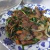 幸運な病のレシピ( 841 )夜:手羽悪魔風、ホッケハタハタ干物、レバニラ、豚バラ漬け焼き、ヤゲン軟骨焼き、汁