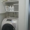 入居後 WEB内覧会~洗面所の洗濯機まわり~