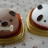 セブンイレブンのわんちゃんチョコケーキとパンダのミルク&チョコケーキ