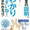 タイトルに偽りなし!浅田すぐる さん著書の『「いまの説明、わかりやすいね!」と言われるコツ』