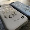 iFaseタイプ(スェード調) & 木(竹)のiPhoneケース